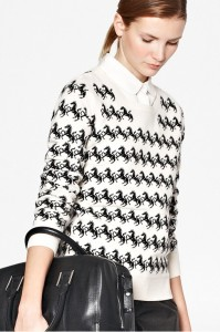 French Connection Horse Knitted Jumper